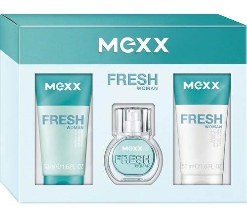 Mexx Fresh Woman купить подарочный парфюмерный набор мекс фреш вумен